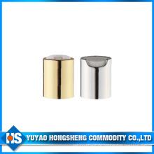 Aluminium Shampoo Push Pull Disc Cap für Flasche