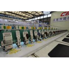 Высокоскоростная смешанная компьютеризированная машина вышивки на продажу