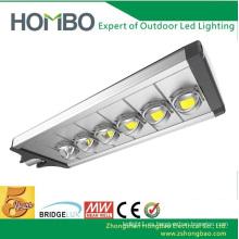 La cubierta de aluminio de la lámpara de 240w 270w llevó la luz ligera llevada de la calle IP65 Bridgelux