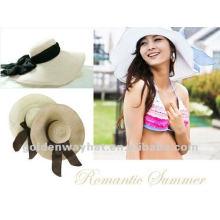 Fashion ladies paper summer hat for wedding