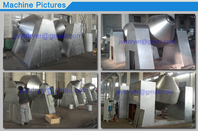 Rotary Double Cone Vacuum Dryer