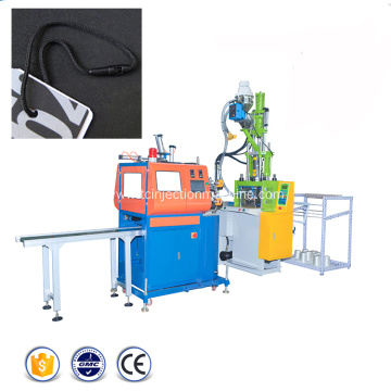 Plastic String Seal Hang Tags Injection Moulding Machine