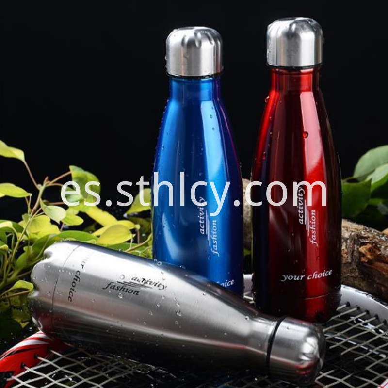 Vacuum Stainless Steel Coke Bottle
