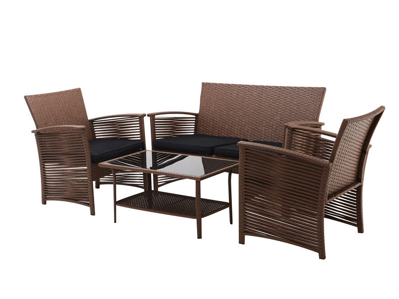 4pc Rattan sofa garden furniure set S2802