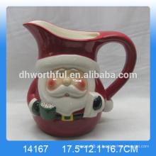 Jarra de água de cerâmica de Natal de alta qualidade