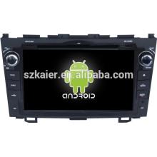 Android 4.4 Miroir-lien Glonass / GPS 1080P dual core voiture multimédia central pour Honda vieux CRV avec GPS / Bluetooth / TV / 3G