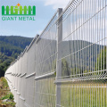 Disesuaikan Galvanized Steel Curved Welded Wire Mesh