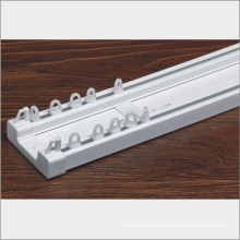 China factory price dual pvc curtain rod wholesale