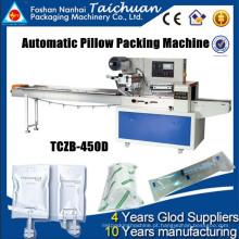 Máquina de embalagem horizontal aprovada da cápsula TCZB-450D