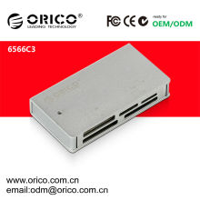 ORICO 6566C3 USB3.0 card reader can support SD/TF/CF/MS/M2/XD cards