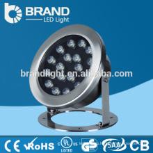 Нержавеющая сталь IP68 12V LED Подводный свет 36W, RGB Изменение светодиодный подводный свет