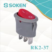 Beleuchteter Spst Oval Rocker Switch