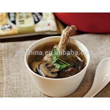 Soupe aux champignons Hot Pot Seasoning pour faire un bouillon de canard