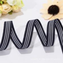 Großhandel schwarzes weißes gestreiftes Band, Polyesterband