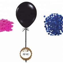 Geschlecht enthüllen Ballon setzt Dekoration für Jungen Mädchen Baby