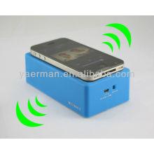 Altavoz de inducción, mini altavoces portátiles para teléfonos
