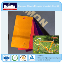 Hot Sale Bright Candy Effect Color Spray en poudre Revêtement pour les pièces de vélo