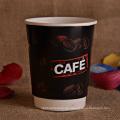 8oz, 10oz, 14oz, 16oz Doppelte Wand Kaffeetasse mit Deckel