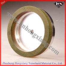 150 * 10 * 10 Harz Diamant Schleifen Tasse Rad für Glas
