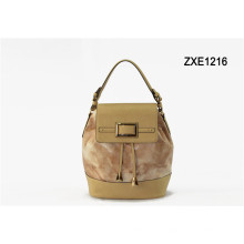 2015 China Newest Wholesale Exported Trendy Leather Handbag for Women Zxe1216