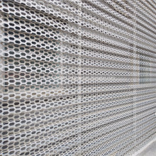 Architectural Perforated Metal Sheet Screenwall