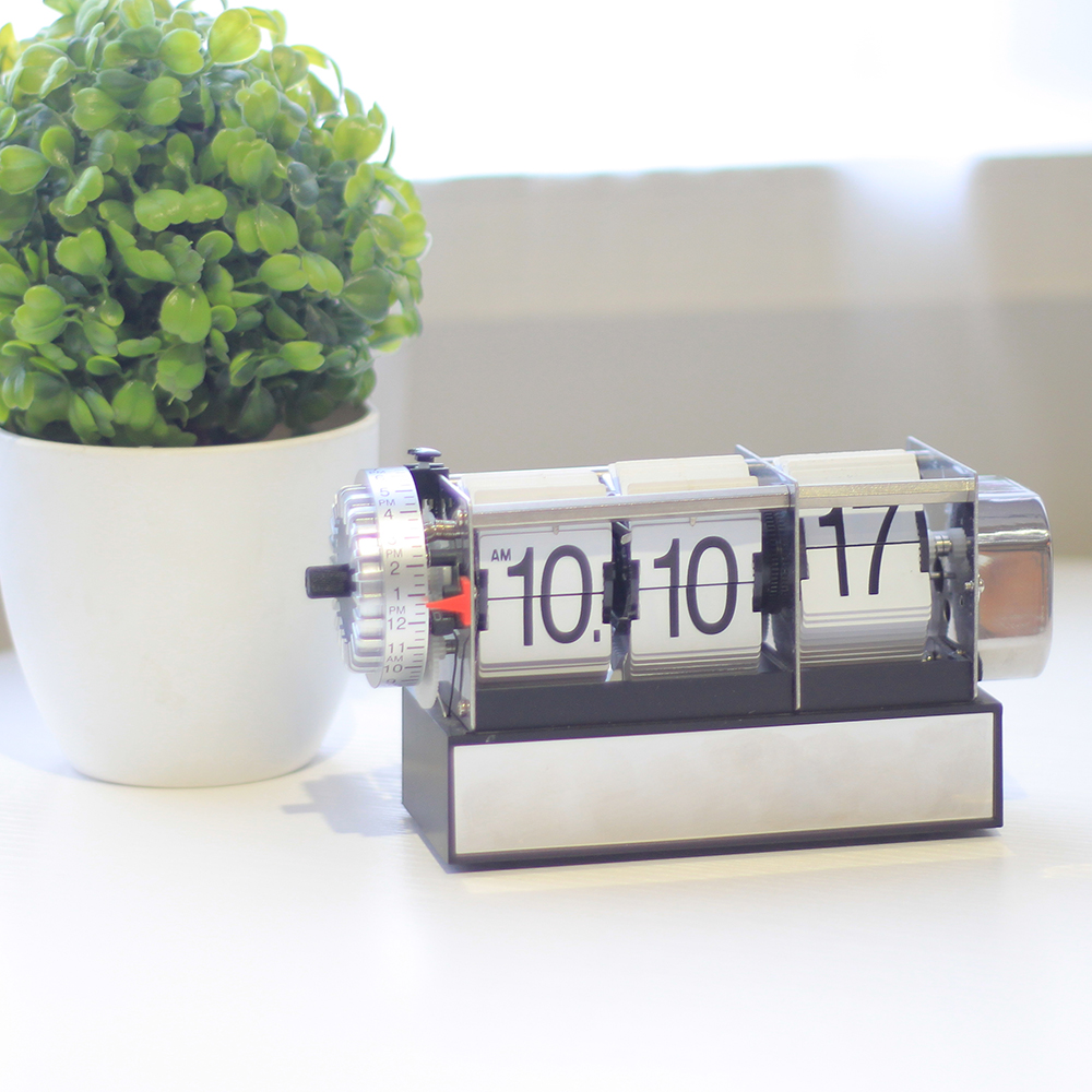 Retro Alarm Clock Flip