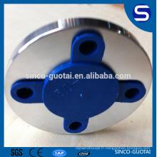 bride standard de tuyau d'acier inoxydable de la classe 150 ansi