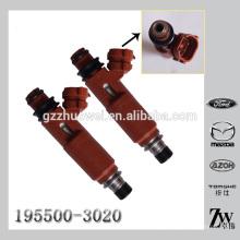 Nouvelle installation de l'injecteur de carburant d'origine, injecteur de carburant solénoïde 195500-3020 1955003020 pour Mazda Mitsubishi