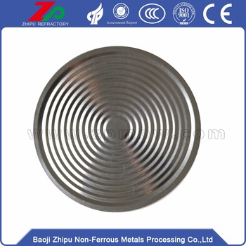 Price of Thickness 0.1mm Tantalum Diaphragm