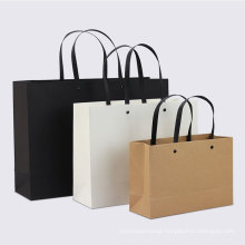 Eco-friendly Custom Printed Clothing Gift Kraft Paper Bag Shopping Bag Advertising Printing Tote Bag With Your Own Logo