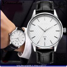 YXL-450 Fashion montres en acier inoxydable Quartz prénatale dames montre marque cuir Date acier poignet montre hommes