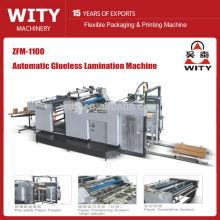 ZFM-1100 Laminadora de películas sin adhesivo automático