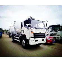 Camión del mezclador de 4 * 2 6CBM Sinotruk HOWO / camión del cemento de HOWO / camión concreto Howo / camión del tránsito del mezclador / camión del cemento / camión de mezcla