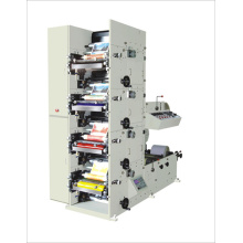 Máquina de impresión flexográfica de cuatro colores