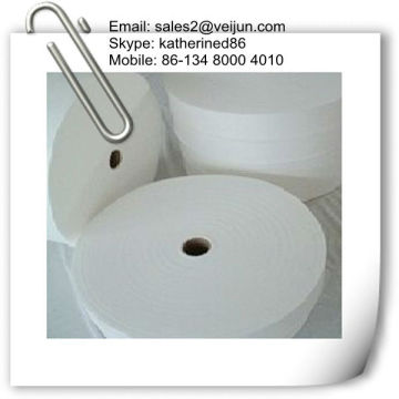 spunlace non-woven fabric rolls for wet tissue