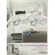 4 Piece 3D Printed Floral Bedding Set Bedclothes Duvet Cover, Bed Sheet 2 Pillowcases King/Queen/Twin Size