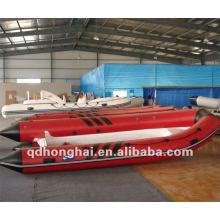 rigid boat rib390 fiberglass with pvc