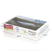 Custom Eco-friendly Full Color Bridge Adult Jigsaw Puzzles 1000 pcs