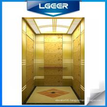 Titanium Alloy Decoration Passenger Elevator