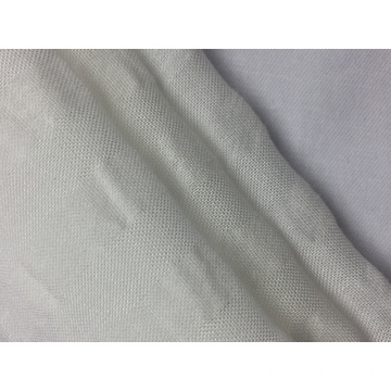 Rayon Cotton Stripe Solid Fabric