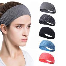 Sports Colorful Antiperspirant Headband Running Riding Yoga