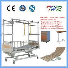 Lit de traction orthopédique à quatre manivelles (THR-TB003)