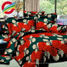 la hoja de cama moderna al por mayor del bajo costo fija la acción de la tela