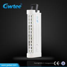 Fabriqué en Chine lampe de secours rechargeable portative portable
