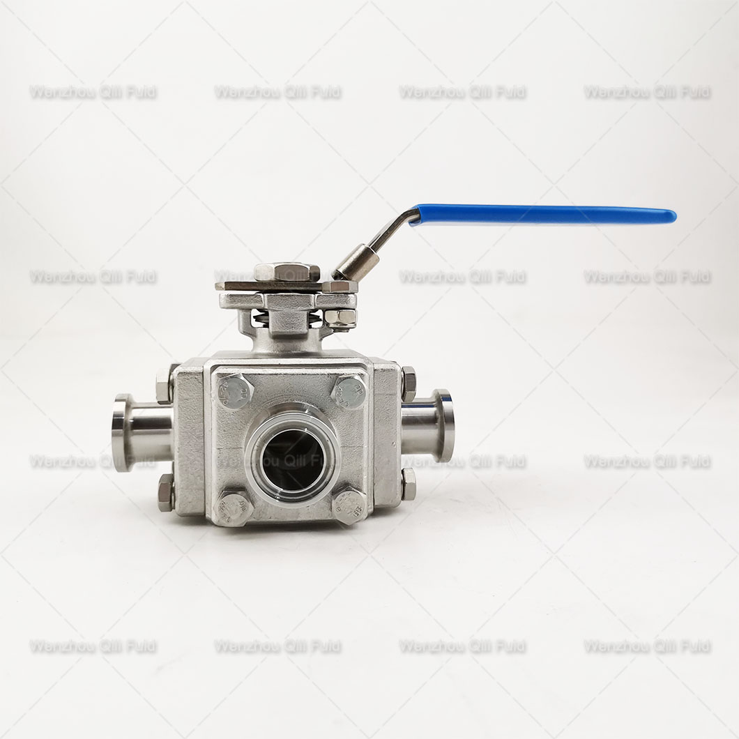 Three way ball valve (15)