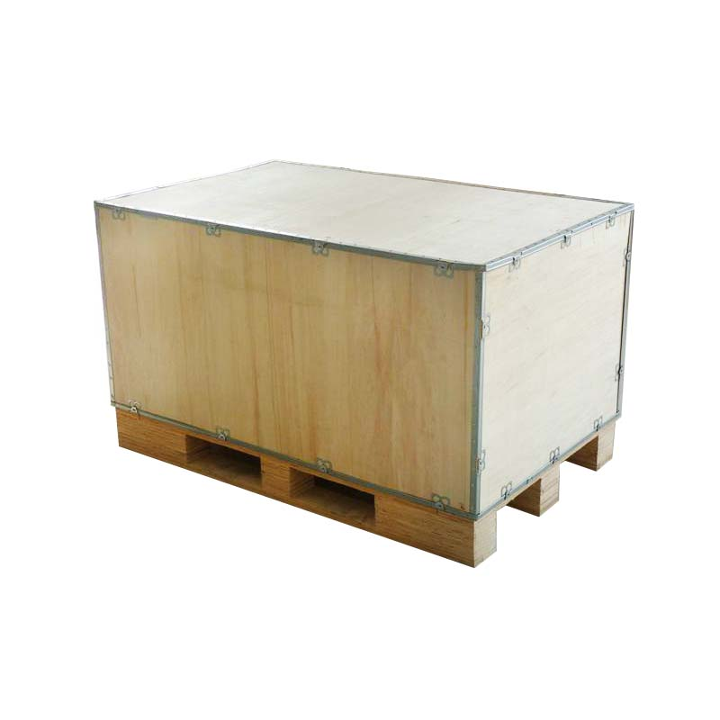 Steel Belt Air Wooden Boxes