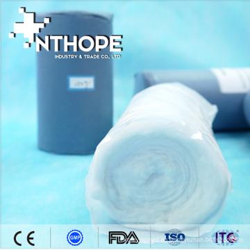 vendaje quirúrgico y artículos desechables cinta de rollo de algodón suave materia prima