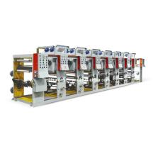Máquina de impresión plástica de la película del tipo del grabado de 8 colores
