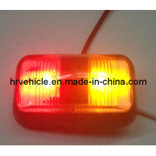 Amber/Red LED Marker Side Lamp for Trailer Truck