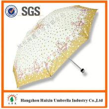 Dernière usine gros Parasol impression Logo ouvrir et fermer le parapluie